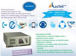 Make your Business telecom much easier and smoother with AasTell IPPBX
