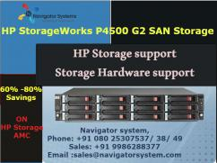 HP StorageWorks P4500 G2 SAN Storage,HP Storage support,Storage Hardware support