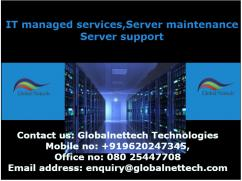 IT managed services,Server maintenance,Server support