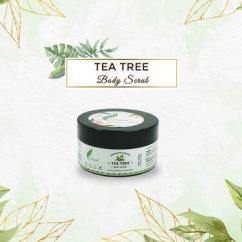 Frescia Tea Tree Body Scrub promotes smooth and supple skins