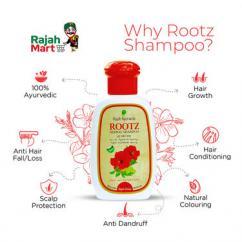 Rajah Ayurveda Rootz Herbal shampoo