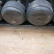 Gently Used Dumbbells Available