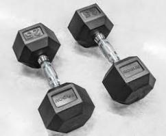 Dumbbells With 15Kg Weight