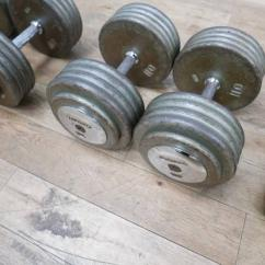 Used Dumbbells Set Available
