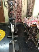 Fox Exer Elliptical Stationary Exercise Bike  with Twister and Stepper