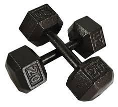 Less Used Dumbbells Available