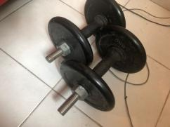 Used Dumbbells In Very Great Condition
