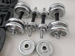 Dumbbells In Less Used condition