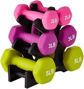 Used Dumbbells In different colors