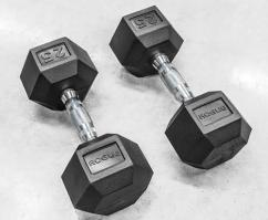 Dumbbells in less used Condition available
