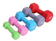 Less used Dumbbells in different colors