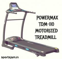 Powermax TDM110 Motorized Treadmill