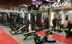 High class gym setup