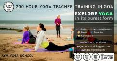 200 hour Hatha and Ashtanga Vinyasa Yoga Teacher Training