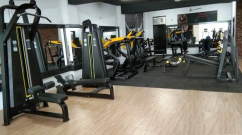 Gym full new branded setup