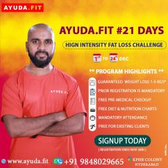 21 Days High intensity Fat Loss challenge in kukatpally