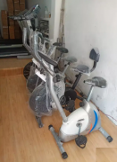 Exercise cycle and treadmill