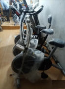 Treadmill and exercise cycle