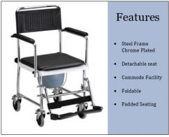 Wheel Chair Available on Rent in Mumbai & NaviMumbai