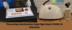 Three-Step Sanitization Help Fight Back COVID-19 Infection
