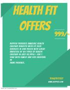 Discounted Health check-ups in combo packages with best Quality.