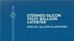 Sterimed Silicon Foley Balloon Catheter (BH Model) Balloon made from Low Duromet