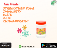Boost your immunity with Olyf Chywanprash 500gm