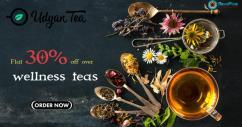 Flat 30 off over wellness teas