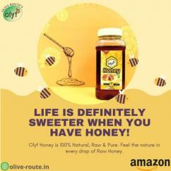 Olyf Natural Honey Feel the nature