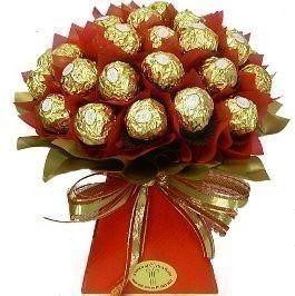 Choco Bonanza - 16 piece Ferrero Rocher chocolate bouquet