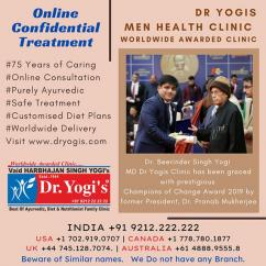 Chief Sexologist Dr Yogi Sex Clinic For Men