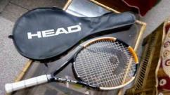 Tennis Racquet With Its Cover