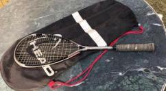 Badminton With Its Full Kit