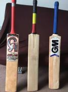 Only 2 Months Old 3 Cricket Bats Available