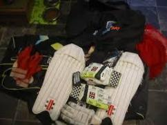 Very Less Used Cricket Kit Available