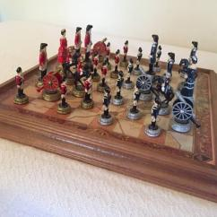 Chess Board In Antique Style