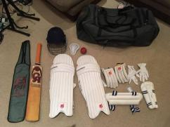 Cricket Kit In Gently Used Condition