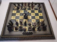 Chess Game In Vintage Style Available