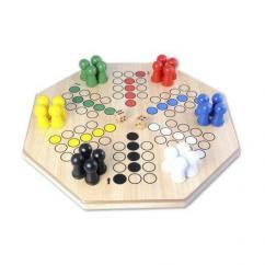 Ludo board in circle shape