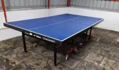 table tennis and football table