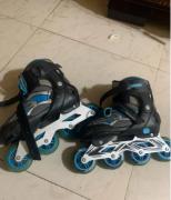 Yonker 4- wheeled single line skates