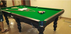 pool table, snooker table, in gud condition