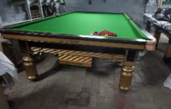 Steel cution snooker table