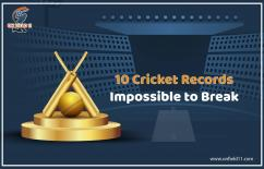 10 Cricket Records -Impossible to Break