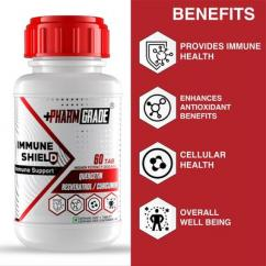Pharmgrade Immune shield Boost the immunity with the powerful combination
