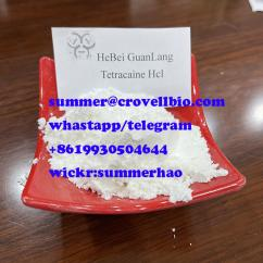 Tetracaine Hydrochloride supplier in China  wickr Summerhap
