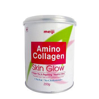 Meiji Amino Collagen Powder. For Skin Glow, No Fat / No Chloesterol. 200 Grams