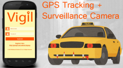 GPS Tracking Device and Surveillance Security Camera in Taxis, Cabs, Trucks.