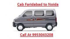 CAB SERVICE FARIDABAD TO NOIDA (9953043208)