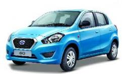 Datson Go available for car rental and outstation rides at amazing prices